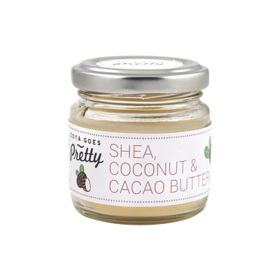 Zoya Goes Pretty - Shea, Cacao & Coconut Butter Jar 60g