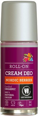 Urtekram - Deodorant Cream Roll On: Nordic Berries