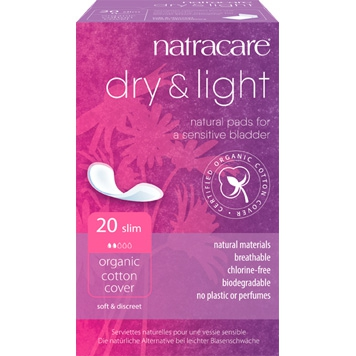 Natracare - Incontinentieverband Dry & Light 16 Plus