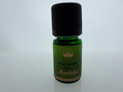 Alambika - Etherische olie: Roman Chamomile / Roomse Kamille Biologisch Gecertificeerd 5 ml  (tht: 06-2020)