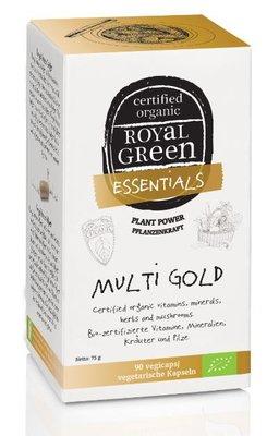 Royal Green - Multi Gold