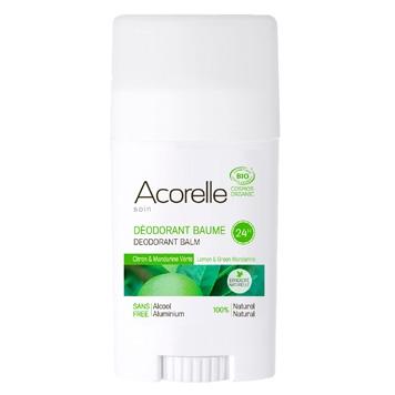 Acorelle - Lemon & Green Mandarine Deodorant Balm