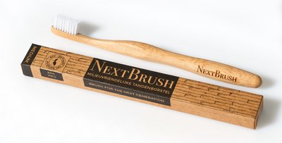 NextBrush - Bamboe Tandenborstel: Medium