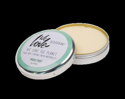 We Love The Planet - Natuurlijke Deodorant Blik: Mighty Mint