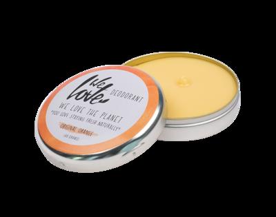 We Love The Planet - Natuurlijke Deodorant Blik: Original Orange