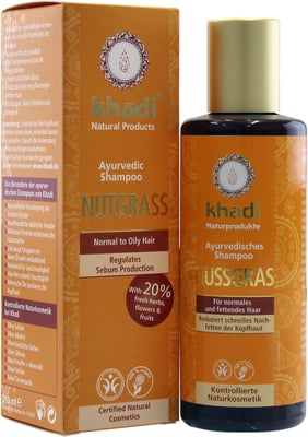 Khadi - Nutgrass Shampoo 210 ml