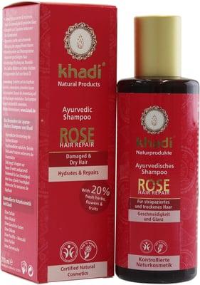 Khadi - Rose Hair Repair Shampoo 210 ml