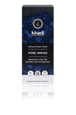 Khadi - Hair Colour: Pure Indigo Zwart