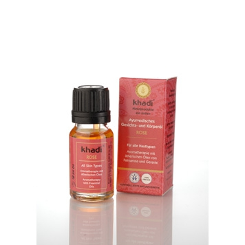 Khadi - Face & Body Oil: Rose 10 ml