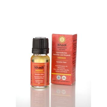 Khadi - Face & Body Oil: Hibiscus 10 ml