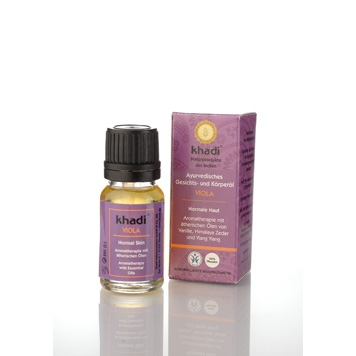 Khadi - Face & Body Oil: Viola 10 ml