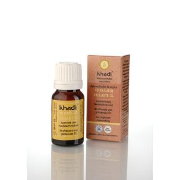 Khadi - 10 Herbs Cellulite Oil 10 ml