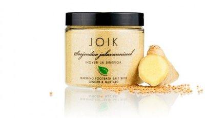 Joik - Voetenbad Zout: Gember & Mustard