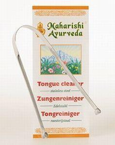 Manarishi - Ayurvedische Tongschraper RVS