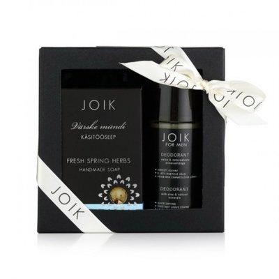 Joik - Men Gift Box: Deodorant & Gin Tonic Soap