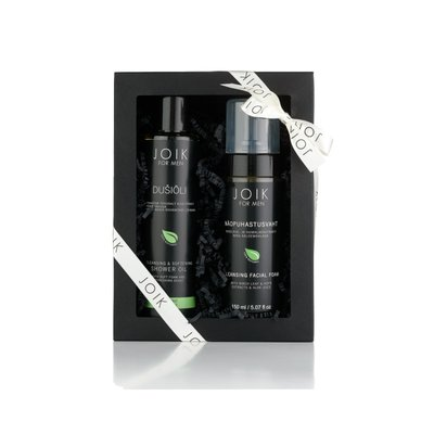Joik - Men Gift Box: Cleansing Foam & Shower Oil