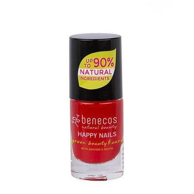 Benecos - Nagellak Vintage Red