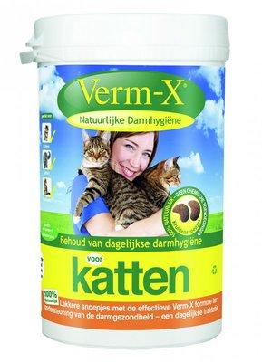Verm-X - Natuurlijke Darmhygiëne: Snoepjes Voor Katten