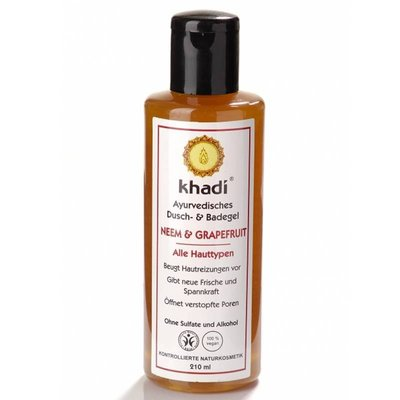 Khadi - Body Wash: Neem & Grapefruit