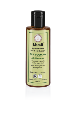 Khadi - Body Wash: Tulsi & Jamrosa