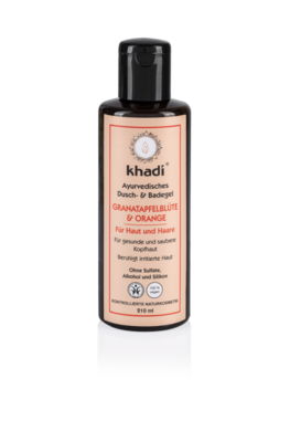 Khadi - Body Wash: Pomegranate & Orange