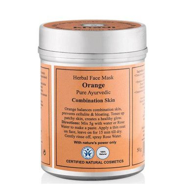 Khadi - Face Mask: Orange