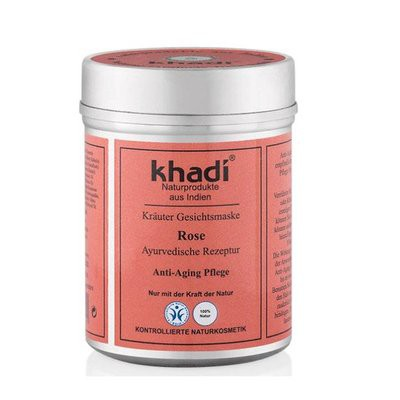 Khadi - Face Mask: Rose