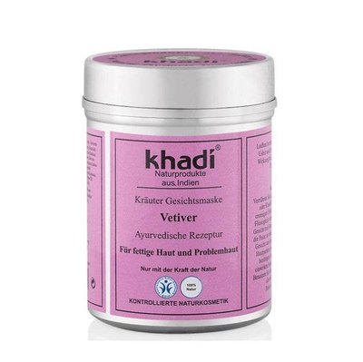 Khadi - Face Mask: Vetiver
