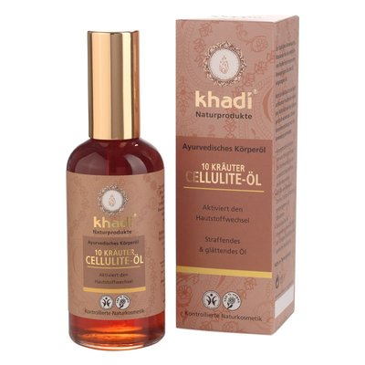 Khadi - 10 Herbs Cellulite Oil 100 ml