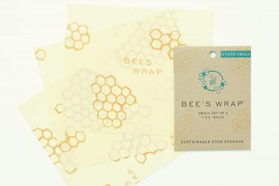 Bee's Wrap - 3-Pack Small 17,5 x 20 cm