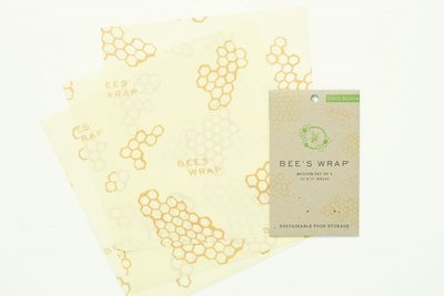 Bee's Wrap - 3-Pack Medium 25 x 27,5