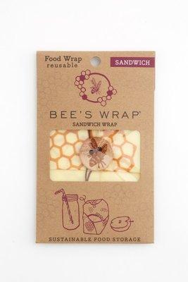 Bee's Wrap - Sandwich 33 x 33 (Creme/Bruin)