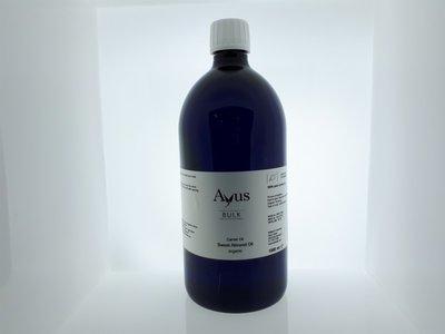 Alambika - Basis olie: Sweet Almond / Zoete Amandel Olie Biologisch Gecertificeerd 1000 ml