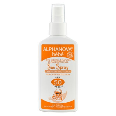 Alphanova - Bio Sun Spray SPF50 Baby