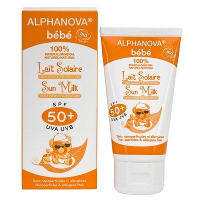 Alphanova - Bio Sun Milk SPF50+ Baby