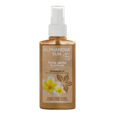 Alphanova - Bio Sun Glittering Dry Oil Spray