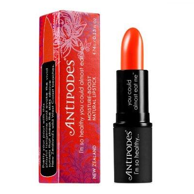 Antipodes - Natural Lipstick: Piha Beach Tangerine