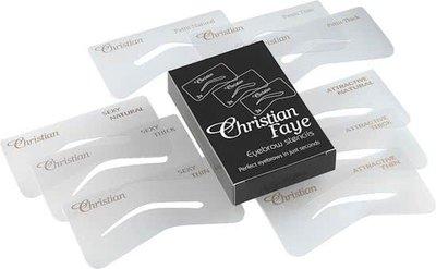 Christian Faye - Eyebrow Stencil Set SPA