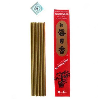 Nippon Kodo - Morning Star Wierook: Sandalwood