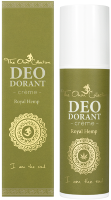 The Ohm Collection - DEOdorant Creme: Royal Hemp