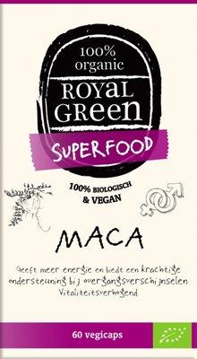 Royal Green - Maca 60 tabletten (tht: 31-05-2019)