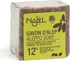 Najel - Aleppo Zeep: Pure Olive Soap 12% Laurier 200 gram