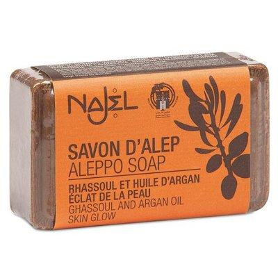 Najel - Aleppo Zeep: Rhassoul & Argan Olijfzeep
