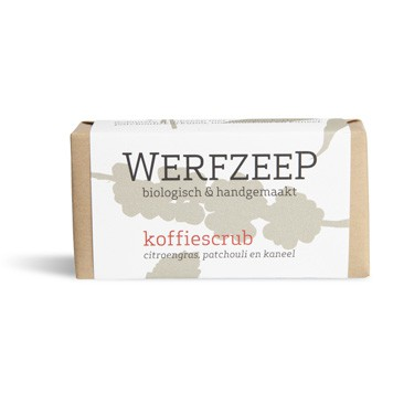 Werfzeep - Koffiescrub