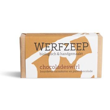 Werfzeep - Chocoladeswirl Zeep
