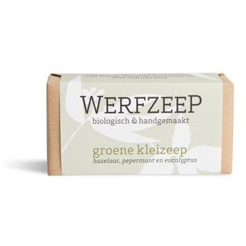 Werfzeep - Groene Klei Zeep