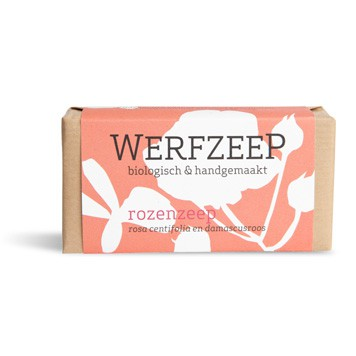 Werfzeep - Rozenzeep