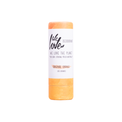 We Love The Planet - Natuurlijke Deodorant Stick: Original Orange