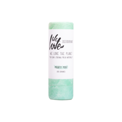 We Love The Planet - Natuurlijke Deodorant Stick: Mighty Mint