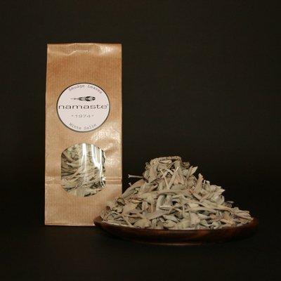 Namaste - Smudge Leaves: Witte Salie